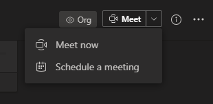 Microsoft Teams Meet Now