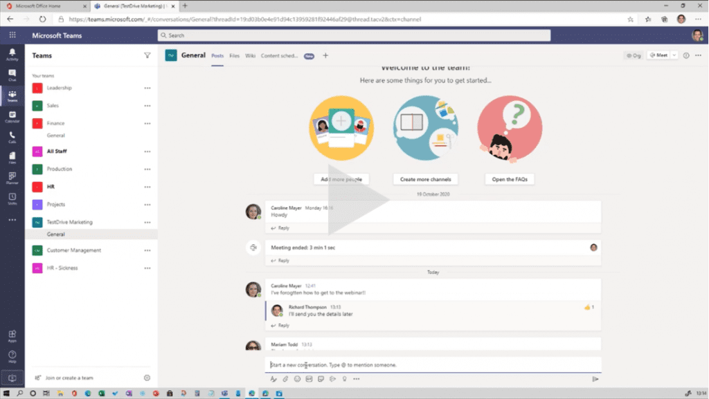 Select Webinar: What's new in Teams?