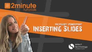 PowerPoint Inserting Slides